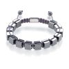 Hematite cubes bracelet