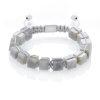 Labradorite cubes bracelet
