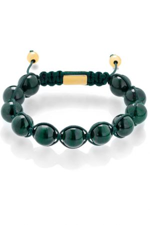 Shamballa bracelet Malachite
