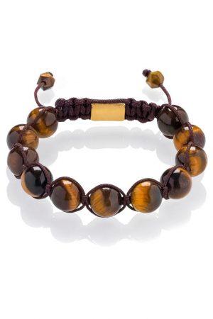 Shamballa bracelet Tiger eye
