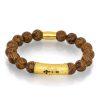 Caligraphy men's bracelet