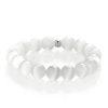 White calcite bracelet