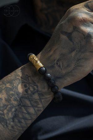 Inferno men's bracelet