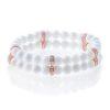 Tridacna women's double bracelet rose gold