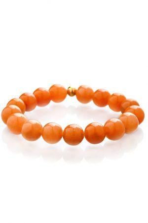 Orange aventurine bracelet