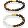 Bracelets for couples - Tiger's eye