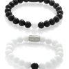 Bracelets for couples - Black & White
