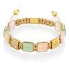 Butterfly flatbead bracelet