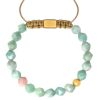 Amazonite bracelet starcut