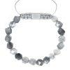 Mountain quartz bracelet starcut