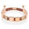Aventurine flatbead bracelet