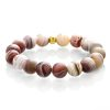 Botswana agate matte bracelet