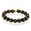 Buddhist mantra Om Mani Padme Hum men's bracelet