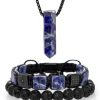 Set of jewelry made from sodalite