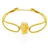 Raw citrine bracelet