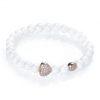 Heart of the Goodness bracelet rosegold