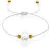 Crystal quartz simple bracelet